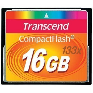 Transcend TS16GCF133 MLC 133 Compact Flash Muistikortti 16Gt