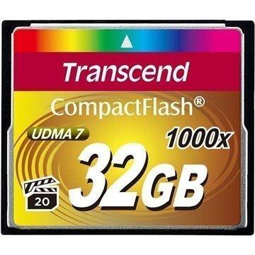 Transcend TS32GCF1000 1000X Compact Flash Muistikortti 32Gt