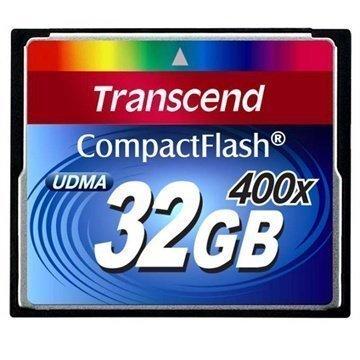 Transcend TS32GCF400 400x Compact Flash Muistikortti 32Gt