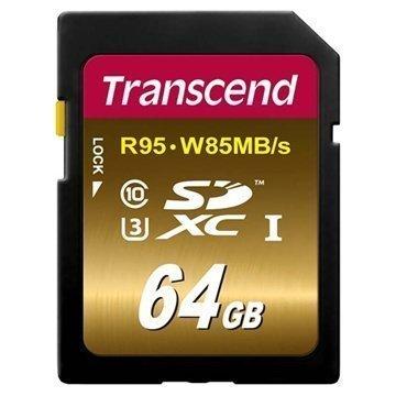 Transcend TS64GSDU3X Ultimate X SDXC Muistikortti 64Gt