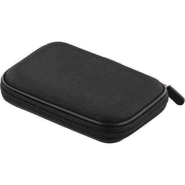 """Transportväska för 2 5 SATA/SSD-hårddisk vetoketju musta"""""""