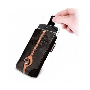 Tuff-Luv Apocalypse Leather Case Size C Black / Brown