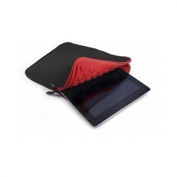 Tuff-Luv Armour-prene Bubble Kotelo Tablet 7 iPad Mini Musta / Punainen