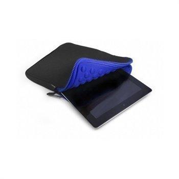 Tuff-Luv Armour-prene Bubble Kotelo Tablet 7 iPad Mini Musta / Sininen