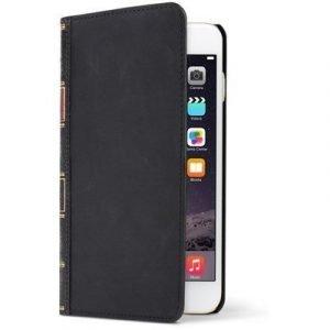 Twelve South Bookbook Läppäkansi Matkapuhelimelle Iphone 6 Plus/6s Plus Klassinen Musta