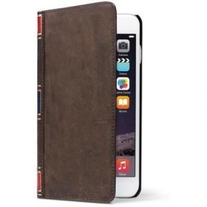 Twelve South Bookbook Läppäkansi Matkapuhelimelle Iphone 6 Plus/6s Plus Vintage Brown