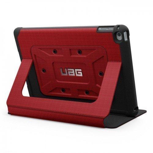 UAG Urban Armor Gear Rogue Folio kestävä suojakotelo iPad Air 2 Puna-Musta
