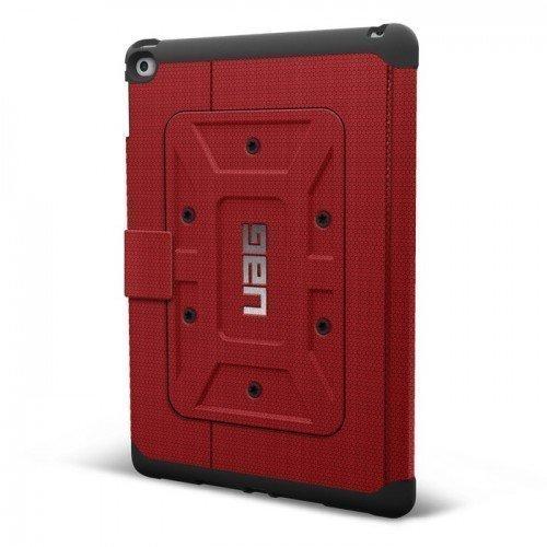 UAG Urban Armor Gear Rogue Folio kestävä suojakotelo iPad Air Puna-Musta