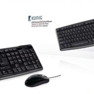 USB keyboard & optical mouse