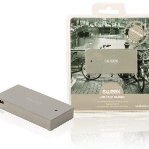 USB-kortinlukija Amsterdam harmaa