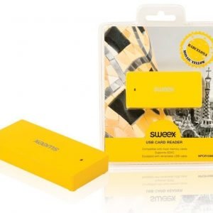 USB-kortinlukija Barcelona keltainen