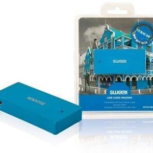 USB-kortinlukija Curaçao sininen
