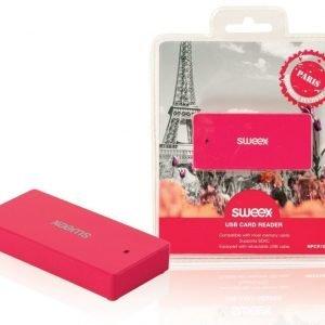 USB-kortinlukija Paris fuksia