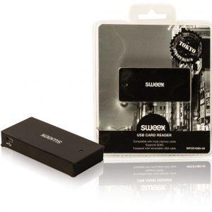 USB-kortinlukija Tokyo musta
