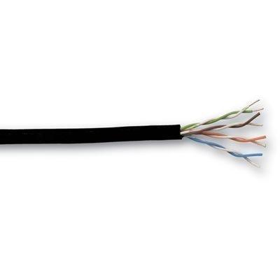 UTP asennuskaapeli Cat6 polyesterikalvotiiviste 305m kela musta