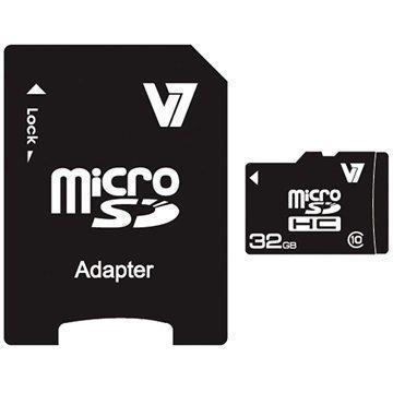 V7 VAMSDH32GCL10R-2E MicroSDHC Muistikortti 32Gt
