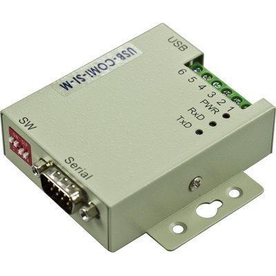 VSCOM USB > sarjaan -sovitin RS-422/485 DB9u metallikuori beige