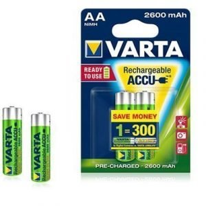 Varta Accu Ready-to-use Rechargeable Battery Ni-mh 2 Pcs Aa/lr6 1
