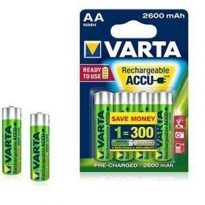 Varta Accu Rechargeable Readytouse Aa 4st 2600mah