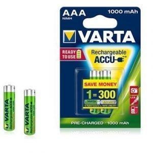Varta Accu Rechargeable Readytouse Aaa 2st 1000mah