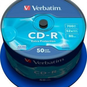 Verbatim CD-R 50-pack (CakeBox)