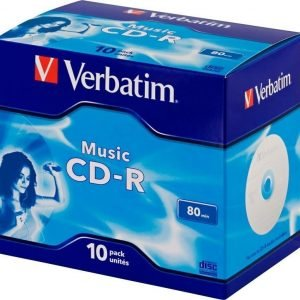Verbatim CD-R Audio 10-pack (JewelCase)