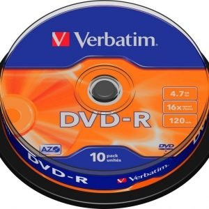 Verbatim DVD-R 10-pack (CakeBox)