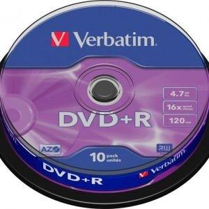 Verbatim DVD+R 10-pack (CakeBox)