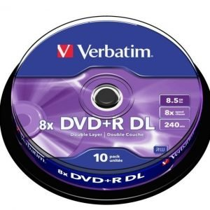 Verbatim DVD+R Dual Layer 8