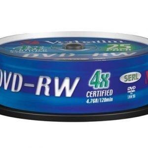 Verbatim Dvd-rw X 25