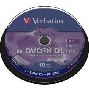 Verbatim Dvd+r Dl X 10
