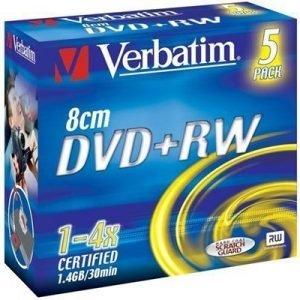 Verbatim Dvd+rw (8cm) X 5