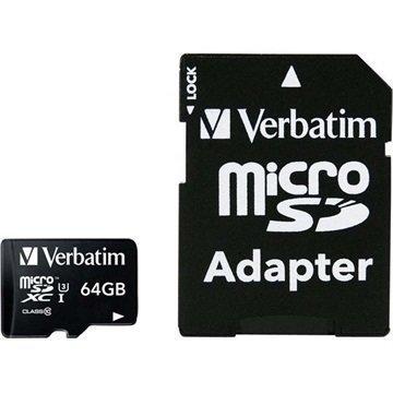 Verbatim Pro MicroSDXC Muistikortti 64Gt