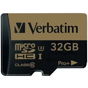 Verbatim Pro Plus MicroSDHC Muistikortti 32Gt