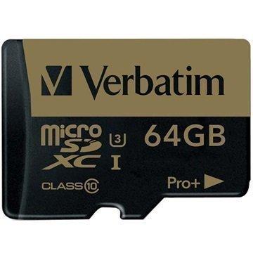 Verbatim Pro Plus MicroSDXC Muistikortti 64Gt