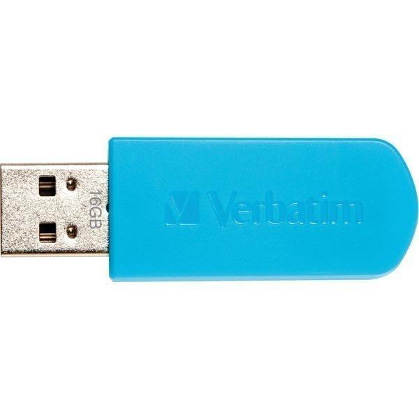 Verbatim Store'N'Go USB 2.0 muisti 16 GB sin
