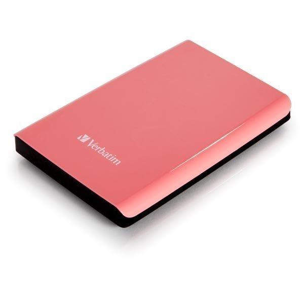 "Verbatim Store'n'Go ulk. kiintolevy 1TB 2 5 USB 3.0 Rosa"""