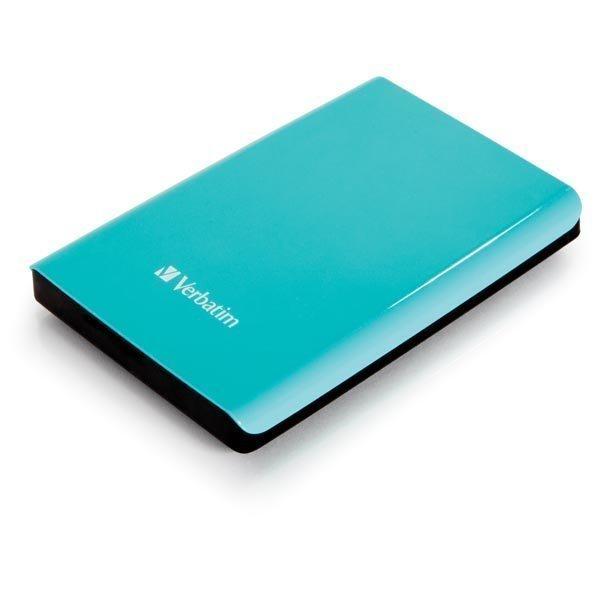 "Verbatim Store'n'Go ulk. kiintolevy 1TB 2 5 USB 3.0 Vihreä"""