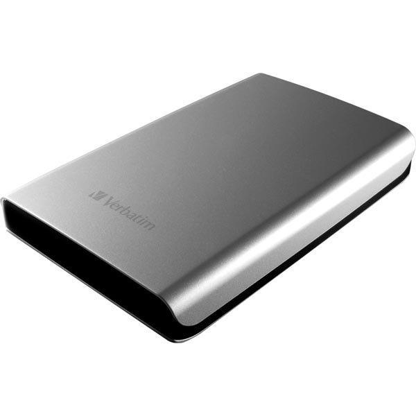 "Verbatim Store'n'Go ulkoinen kiintolevy 1TB 2 5 USB 3.0 hopea"""