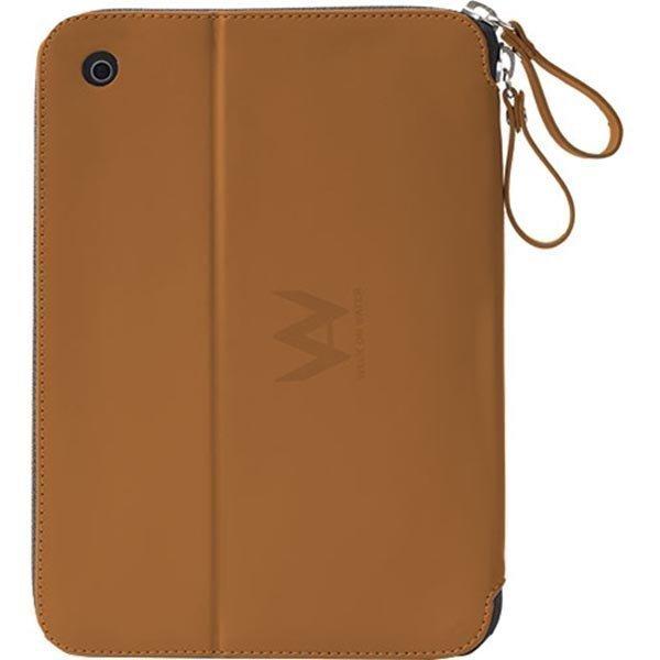 Walk On Water Drop Off - Apple iPad Air 2 PU kotelo ruskea