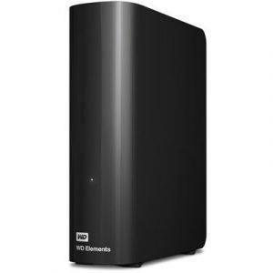 Wd Elements Desktop Wdbwlg0040hbk 4tb Musta