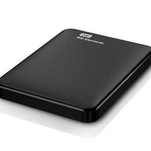 Wd Elements Portable Wdbuzg0010bbk 1tb Musta