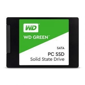 Wd Green Ssd 120gb 2.5 Serial Ata-600