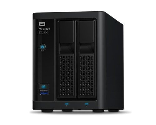 Wd My Cloud Ex2100 Wdbwaz0000nbk 0tb