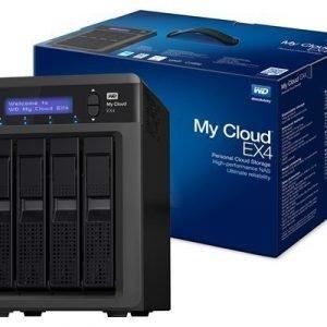 Wd My Cloud Ex4 Wdbwwd0240kbk 24tb