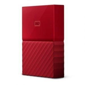 Wd My Passport 3tb Punainen