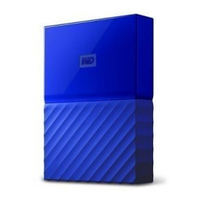 Wd My Passport 3tb Sininen