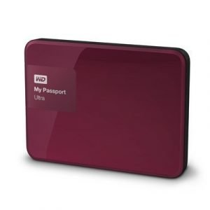 Wd My Passport Ultra Wdbbkd0020bby 2tb Punainen