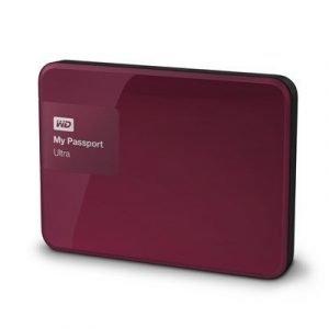 Wd My Passport Ultra Wdbbkd0030bby 3tb Punainen