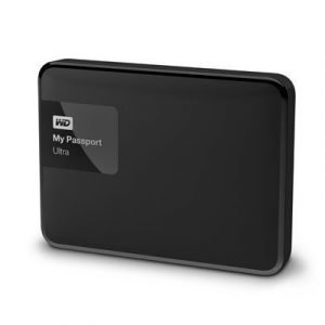 Wd My Passport Ultra Wdbgpu0010bbk 1tb Musta